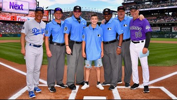 MLB umpire invites youth baseball umpire to Coors Field after a brawl at a game the boy officiated in Lakewood