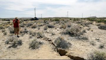 Study: California's big July quakes strain major fault