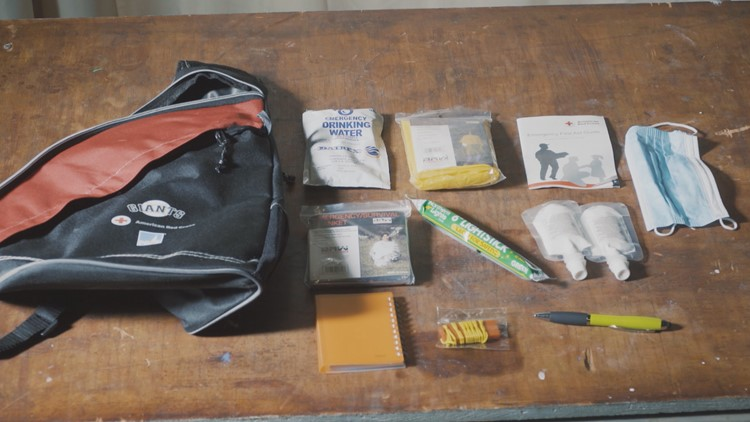 Why a disaster kit will help you survive the next earthquake