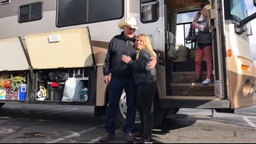 Oregon family gives RV to single mother, children who survived the Camp Fire