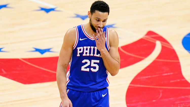 Sixers' Ben Simmons on his way out of Philadelphia?