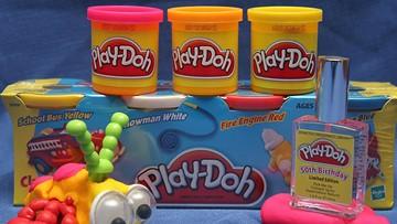 Hasbro trademarks Play-doh's 'sweet, slightly musky' scent