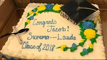 South Carolina Publix censors graduate's 'Summa Cum Laude' cake