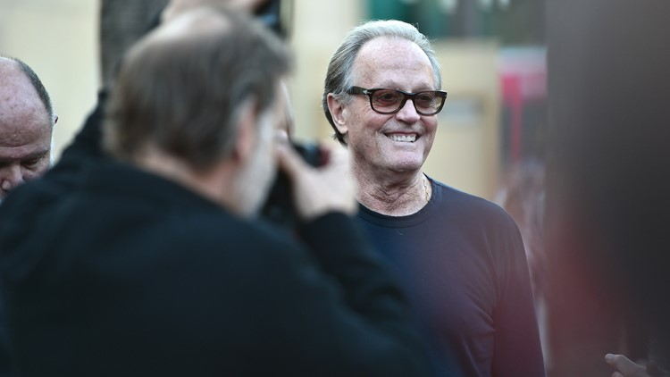 Peter Fonda Boundries premiere