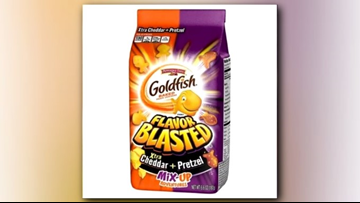4 types of Goldfish crackers recalled due to Salmonella risk
