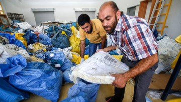 Israel held Palestinian mail for 8 years. Now it's finally being delivered