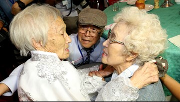 South Koreans enter North to reunite with loved ones separated by war