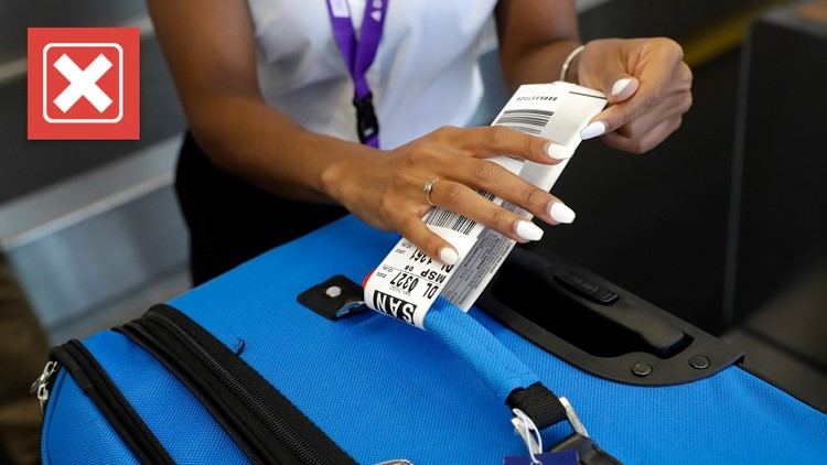 No, airlines in the US didn't introduce checked baggage fees as a result of 9/11