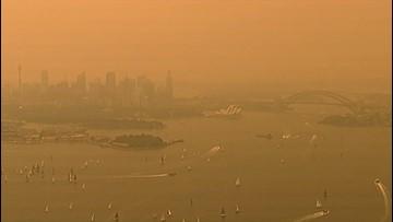 Sydney, Australia Looks Like Mars as Wildfire Smoke Blankets the City