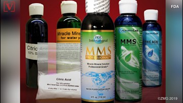 'Miracle' remedy being sold online is actually bleach, FDA warns