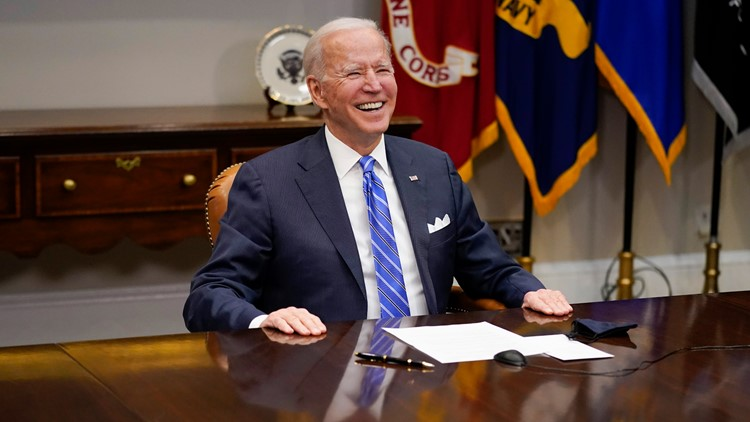 Poll: Biden has 60% approval rating, 70% support his handling of COVID-19 pandemic