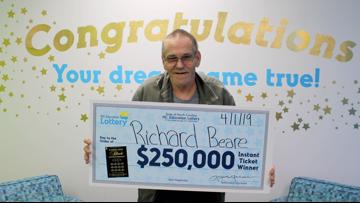 Man with Stage 4 liver cancer has big plans for lottery winnings