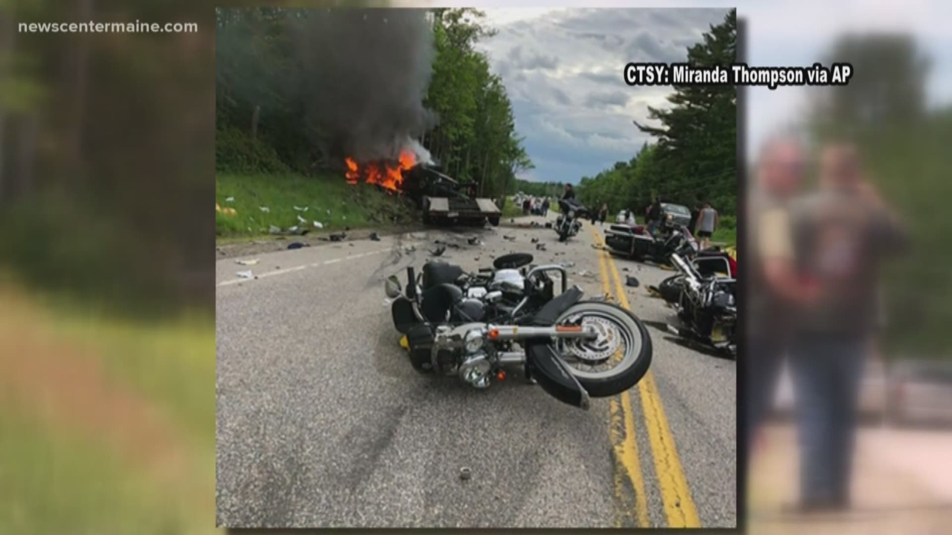 Driver With Record Charged With 7 Homicides In N H Motorcycle Crash Kgw Com