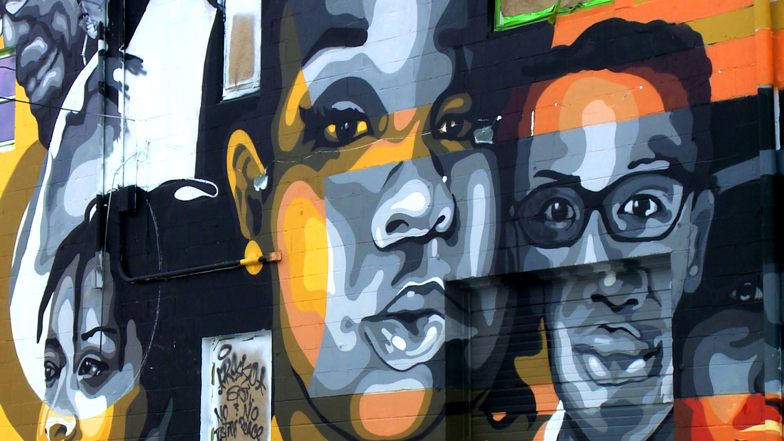 Breonna Taylor David Mcatee Honored In Louisville Mural Kgw Com