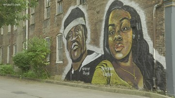 Louisville Mural Honors Breonna Taylor And George Floyd Kgw Com