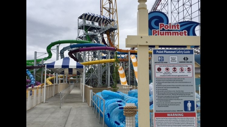 WATCH | Cedar Point Shores waterpark set to open this weekend
