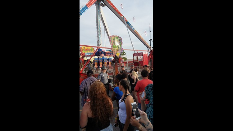 One dead, 7 injured in accident at Ohio State Fair in Columbus: Photos