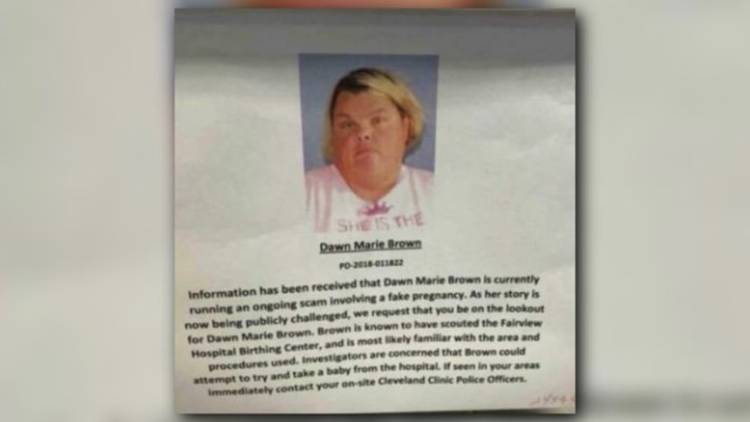 Maternity wards on alert for Cleveland cop's wife accused of faking pregnancy, cancer