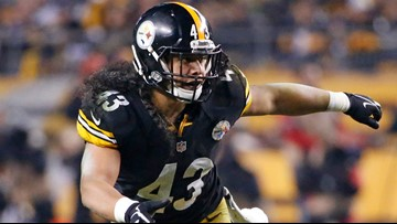 Oregon high school star Troy Polamalu voted into Pro Football Hall of Fame