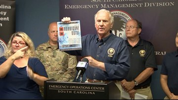 'Assume a Major Hurricane is Going to Hit South Carolina,' SC Governor Says