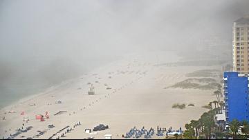 Lightning strike injures 8 people on Florida beach
