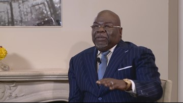 Bishop TD Jakes talks race, the economy and the criminal justice system