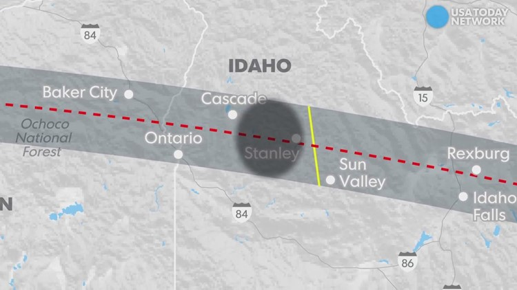 Solar Eclipse By Zip Code Find Out If You Live In The Path Kgw Com