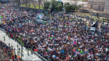 March For Our Lives rally performance schedule