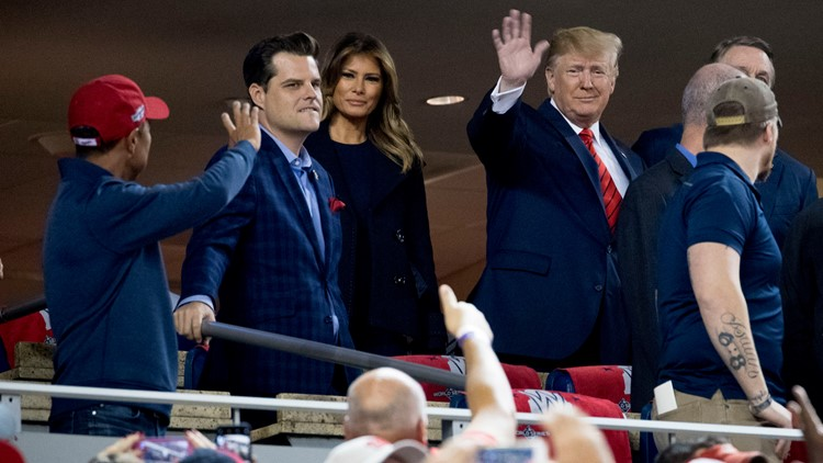 Source: Nationals owners didn't want request to sit with Trump during Game 5