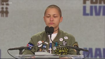 Student Activist Emma Gonzalez speaks at March For Our Lives Rally