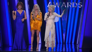 Watch: Dolly Parton lights up the stage at the 2019 CMA Awards