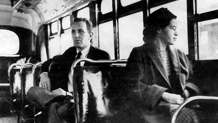 STOPPING THE BUSES rosa parks