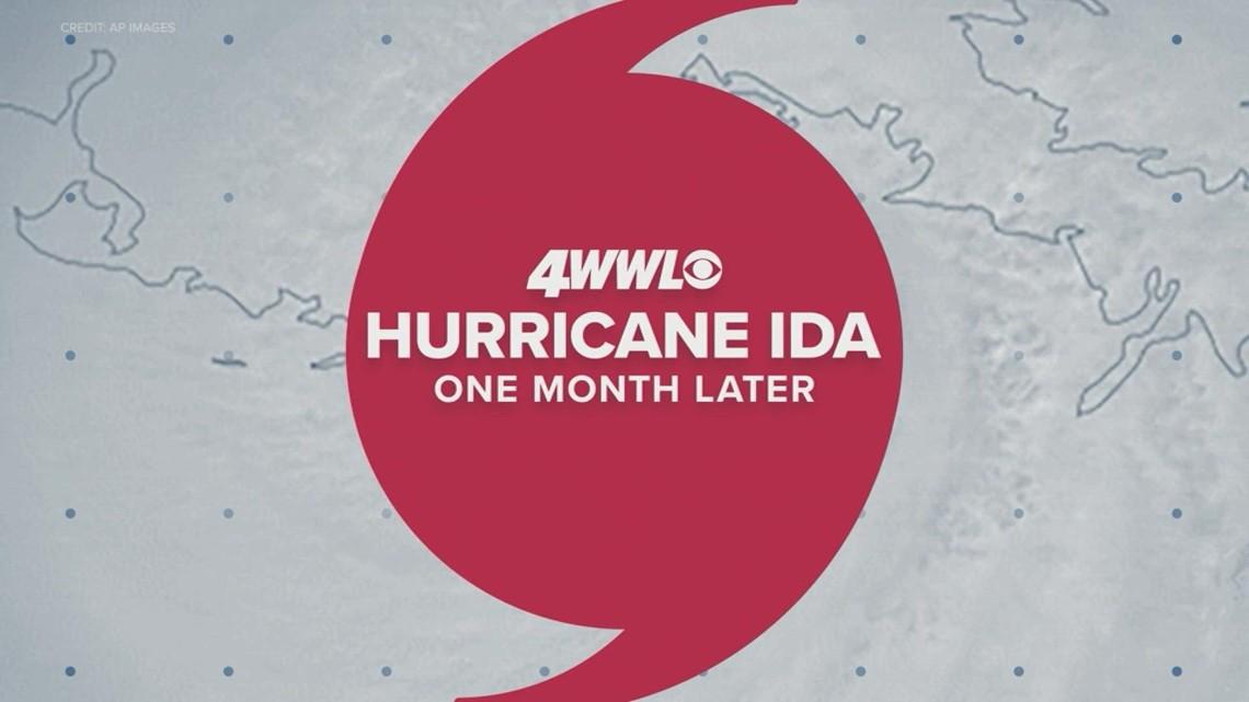 Hurricane Ida - One month later