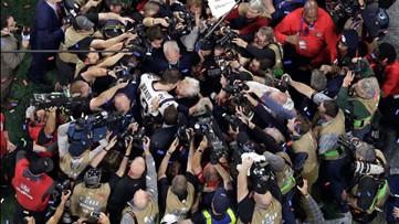 Media bombard Tom Brady after Super Bowl 53 win