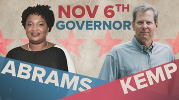 Inside the Georgia governor race: Stacey Abrams vs. Brian Kemp