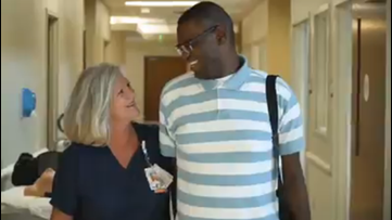 Nurse adopts man with autism so he can receive a new heart
