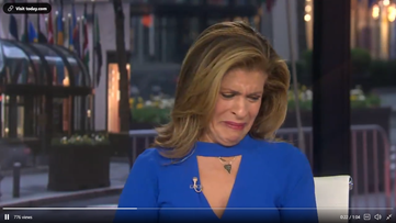 Hoda breaks down on 'Today' after interview with Drew Brees