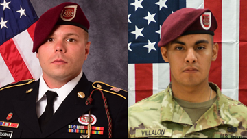 2 Soldiers killed in Afghanistan from Virginia, Illinois